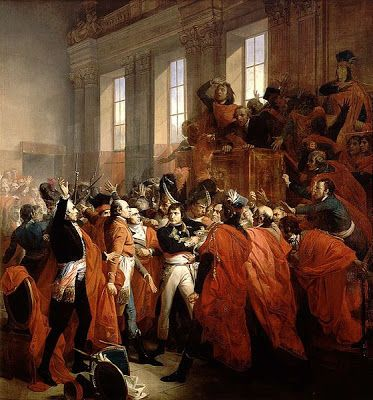 Napoleon In The Council Of 500 Napoleón Bonaparte Napoleón Revolucion Francesa