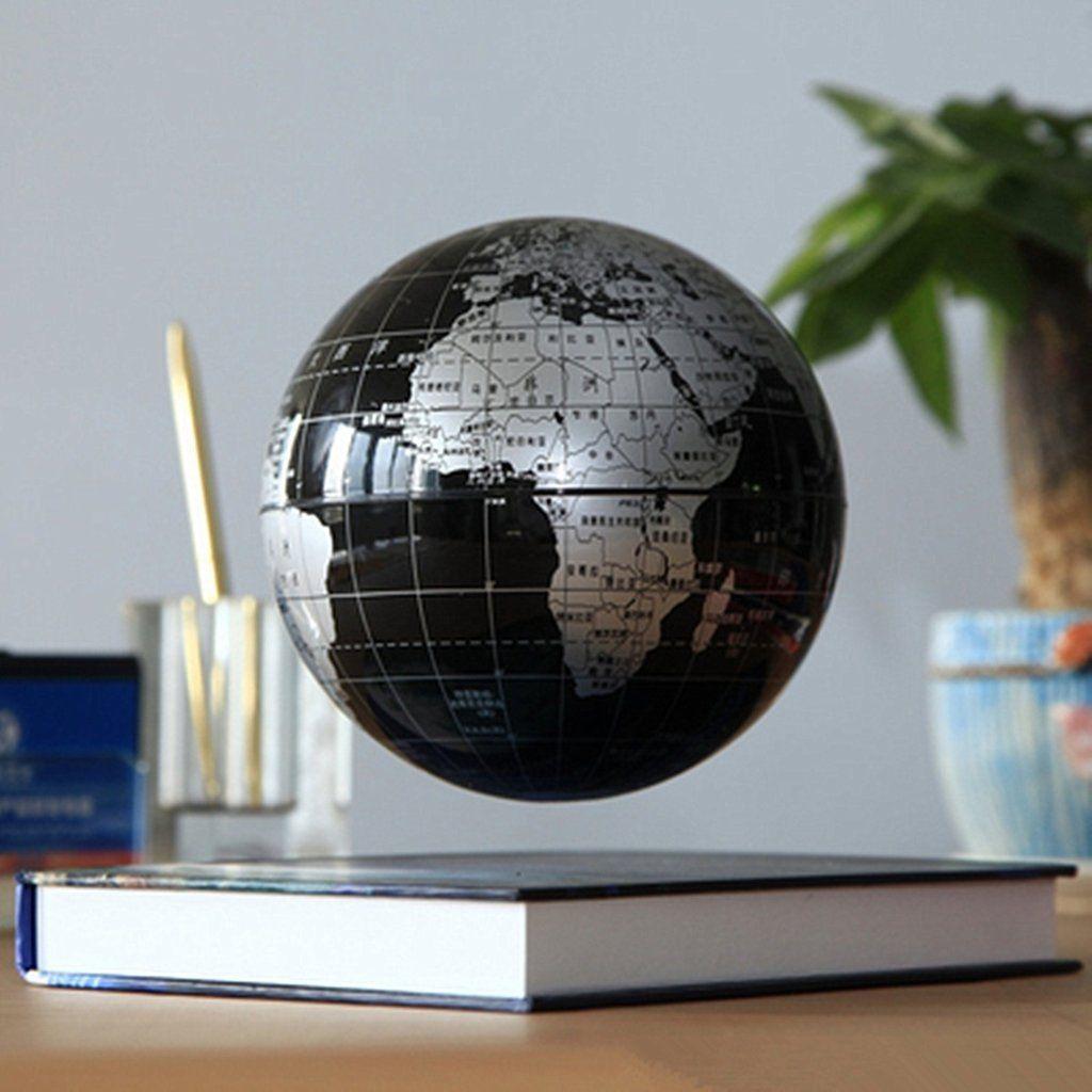 14.5 cm Magic Rotating World Blue GLobe LED Colour Light Educational Toys Gifts