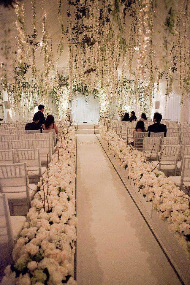 Beautiful Wedding Aisle Decorations Wedding Aisle Outdoor Wedding