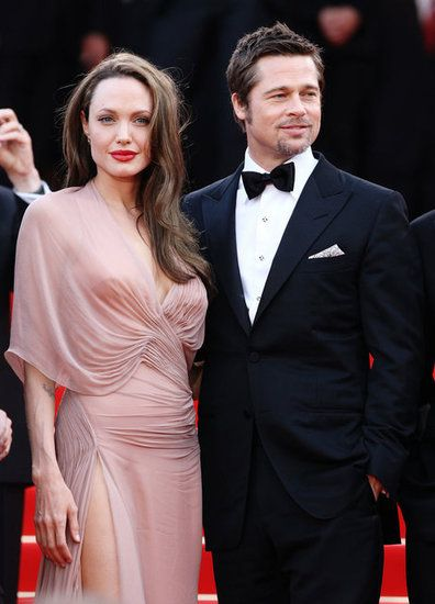 L Amour The Hottest Cannes Couples Past And Present Brad Pitt And Angelina Jolie Angelina Jolie Style Angelina Jolie