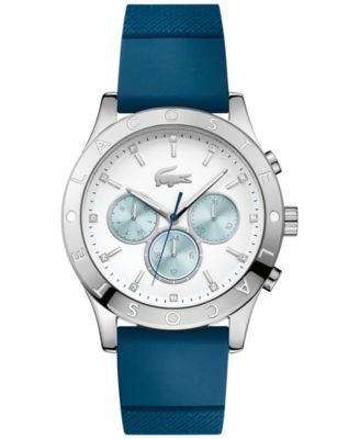 20cc1faf2fb Lacoste Women s Charlotte Blue Silicone Strap Watch 40mm 2000942 ...