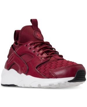 ec7c8f55d197 Nike Men s Air Huarache Run Ultra Se Casual Sneakers from Finish Line - Red  8.5