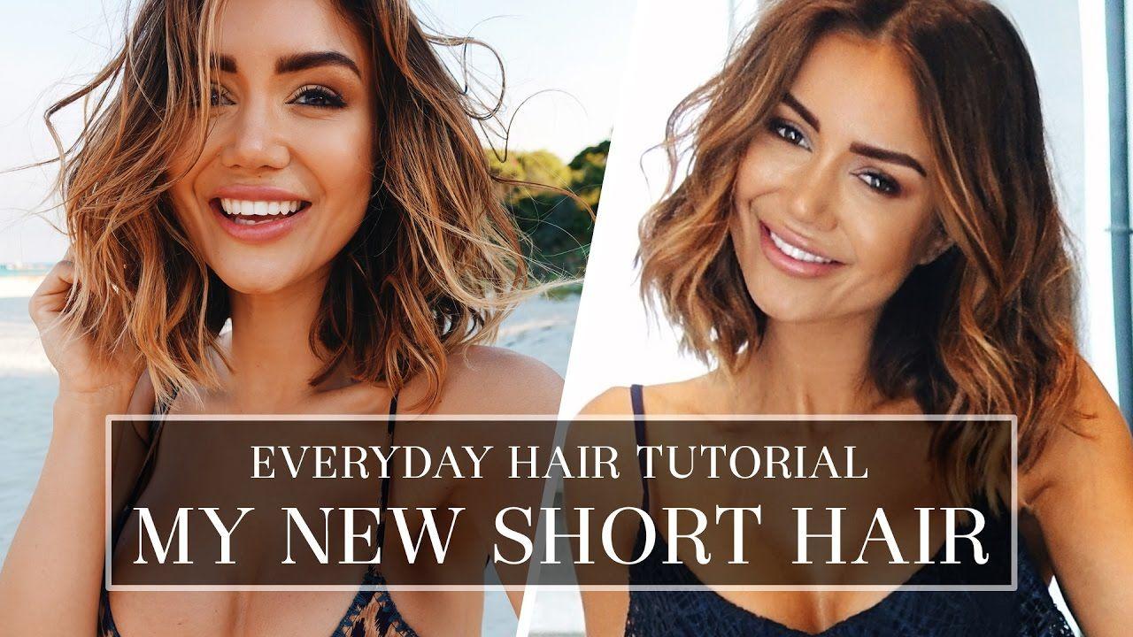 Hair Tutorial How I Do My Hair Everyday Long Bob Hair Style