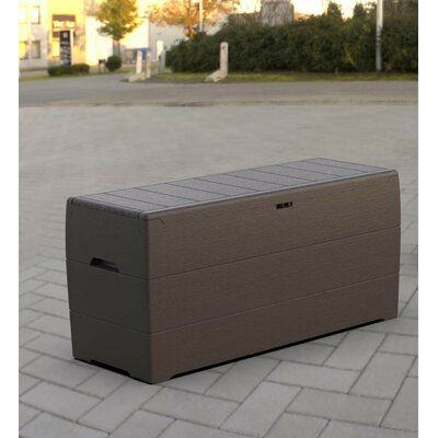 Duramax Building Products Outdoor 71 Gallon Plastic And Resin Deck