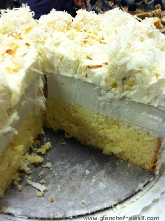 Hawaiian Pineapple Cream Cheese Cake Recipe