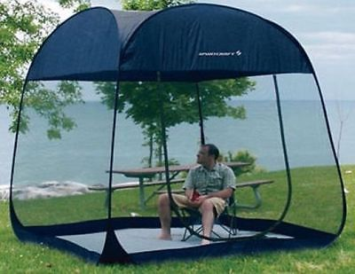 Instant Screen House Pop Up Tent Outdoor Mosquito Shelter Portable C&ing Shade & Instant Screen House Pop Up Tent Outdoor Mosquito Shelter Portable ...