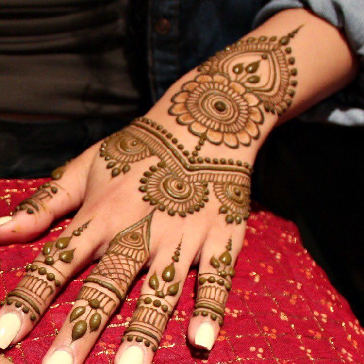 Simple Design Of Henna Mehndi Valoblogi Com