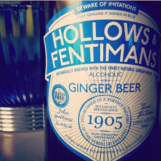 Pin by Sophie Button on Fentimans | Fentimans, Ginger beer ...