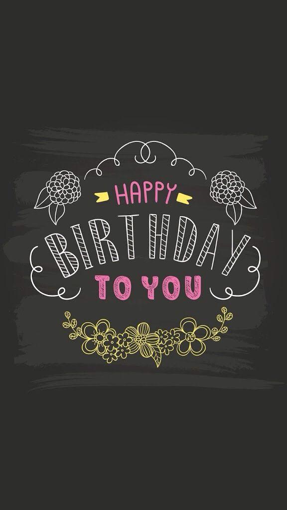 It S My Birthday Today Handletteren Op De Kaarten Pinterest