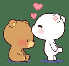 Bear Couple Milk Mocha By Shortie Cute Bear Drawings Cute Love Cartoons Cute Cartoon Wallpapers