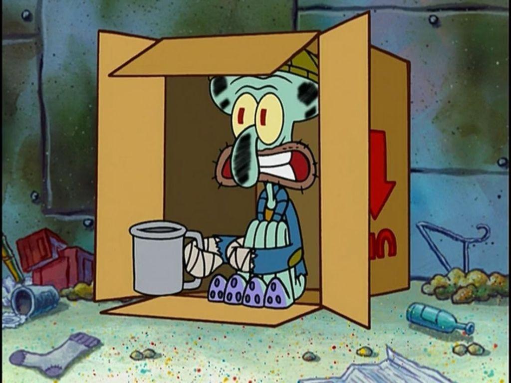 Poor Broke Squidward Google Search Funny Memes Memes Spongebob Memes