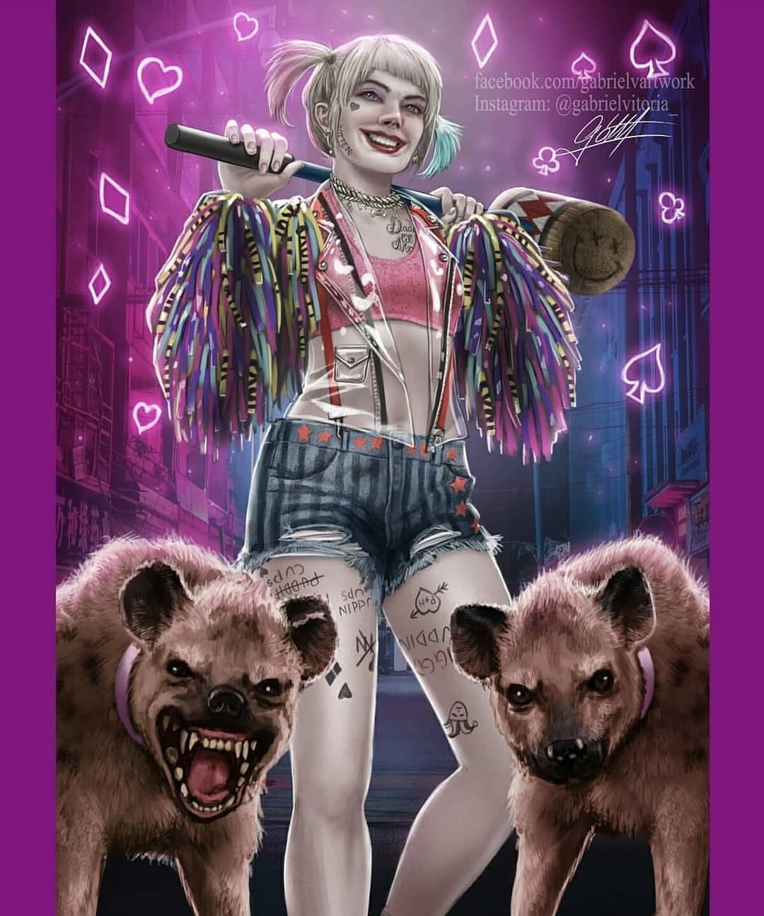 Pin On Birds Of Prey Harely Quinn