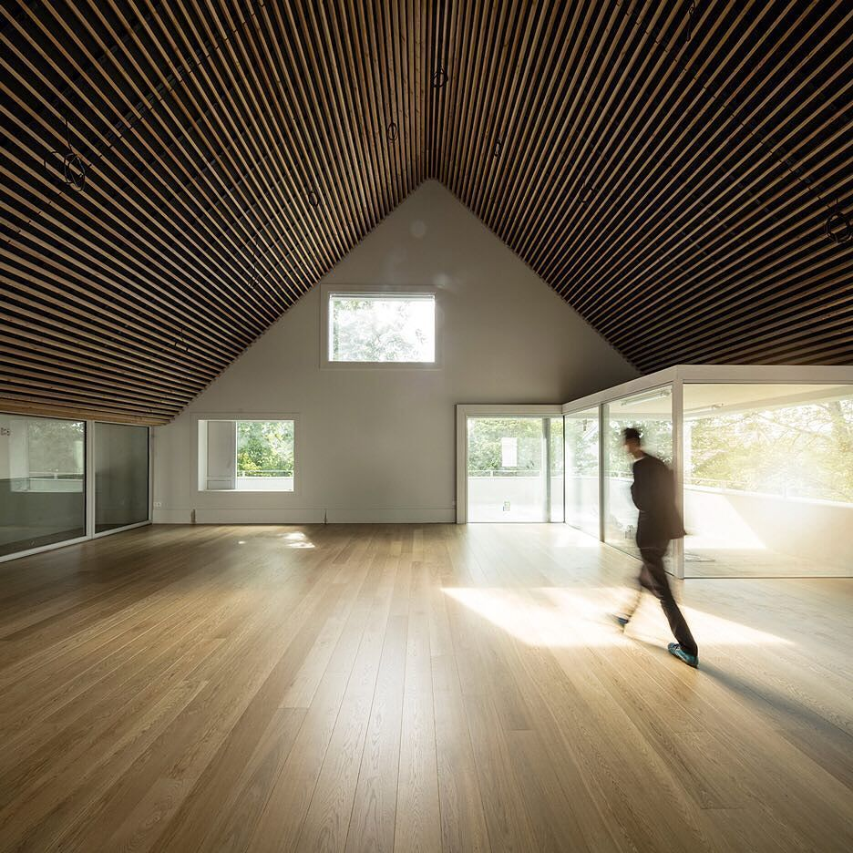 Paris studio Marchi Architectes has extended a small museum in the ...