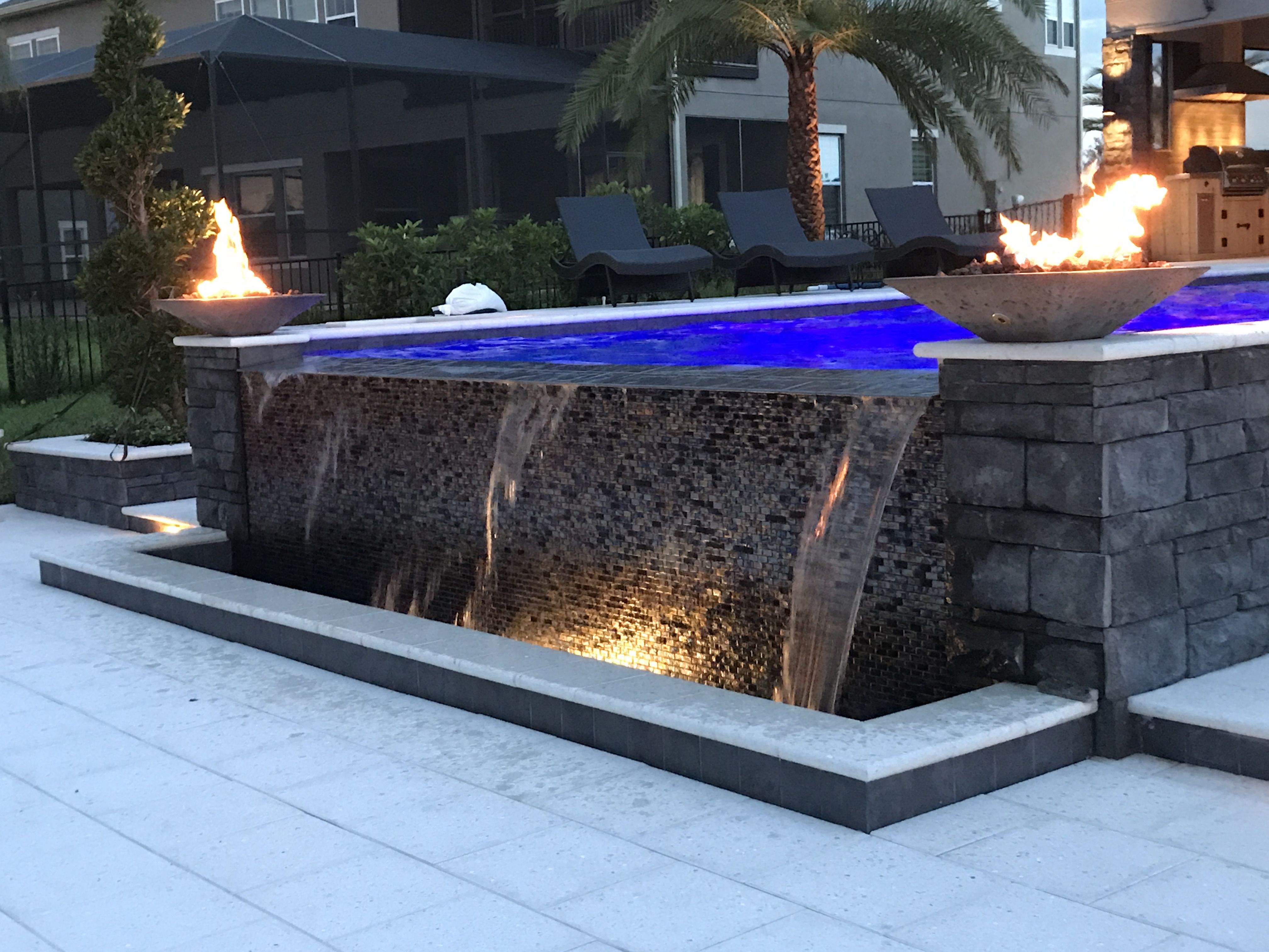 24 inch charcoal concrete fire bowl real customer photos