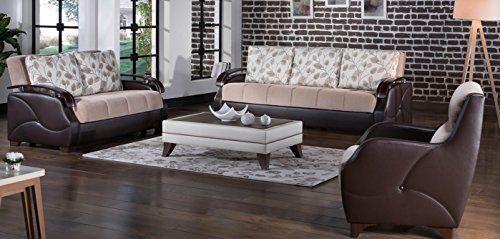 Istikbal Costa Armoni Vizon 3 Seat Sofa + Love Seat + Arm Chair