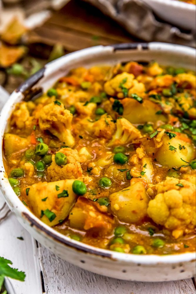 Cauliflower Potato Curry - Monkey and Me Kitchen Adventures
