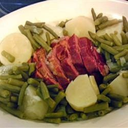 Crazy-Simple Cottage Ham, Potatoes, and Green Beans Allrecipes.com