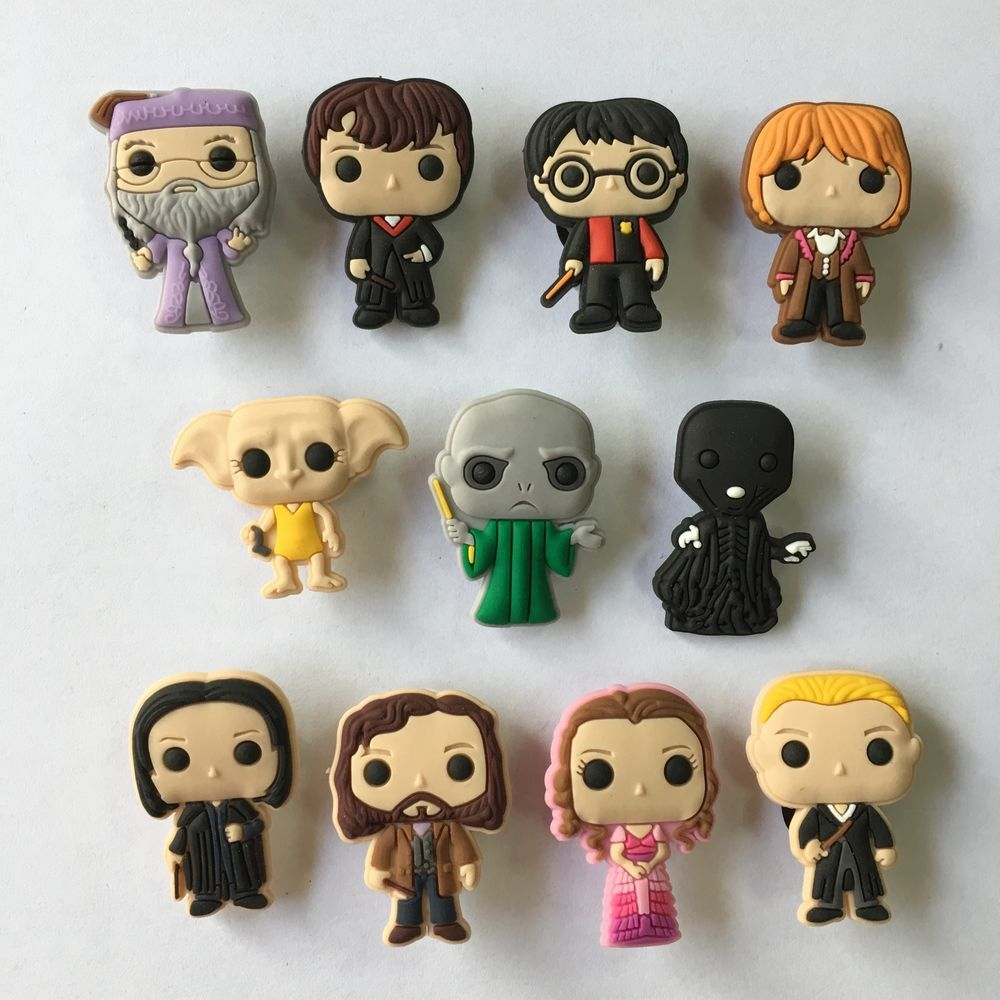 d3c7f9269a 20pcs Lot Harry Potter PVC Shoes Charms fit for Croc & Jibbitz Wristbands  Gift #fashion #clothing #shoes #accessories #kidsclothingshoesaccs ...