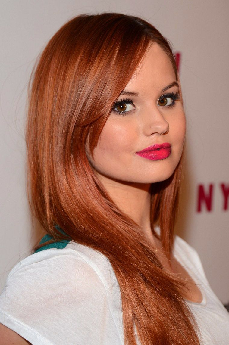 Debby Ryan- gorgeous hair and makeup