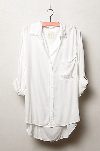 cd919f429 We've got great accessories to go with this essential top white top casual  summer. Oversized Button Down ShirtWhite ...