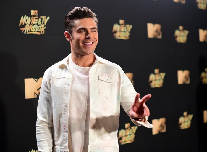 Zac Efron in My Little Pony Sportswear at the MTV Movie and TV ...