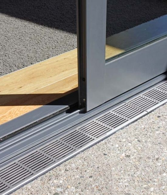 Flush Track At Sliding Door Detail Google Search New Homes
