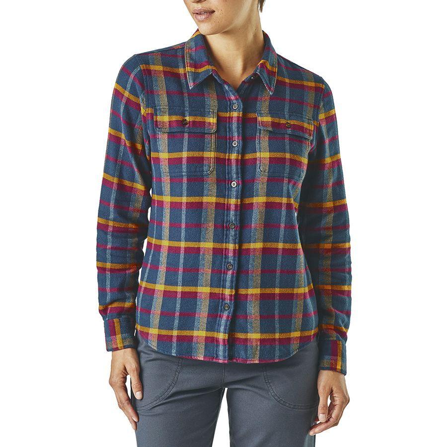 Flannel under shirt  Patagonia Fjord Flannel Shirt  Womenus  Womenus Style  Pinterest