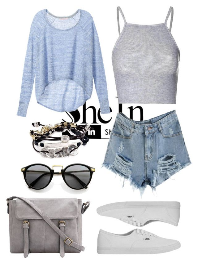 """""""My denim short"""" by fenerbahce1907 ❤ liked on Polyvore"""