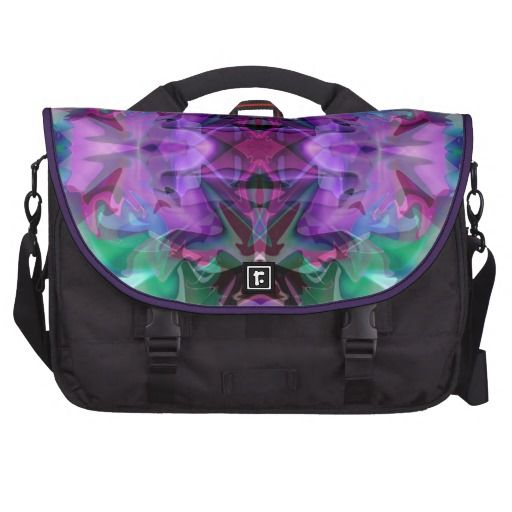 Magic Lamp 4 Glowing Abstract Commuter Bag