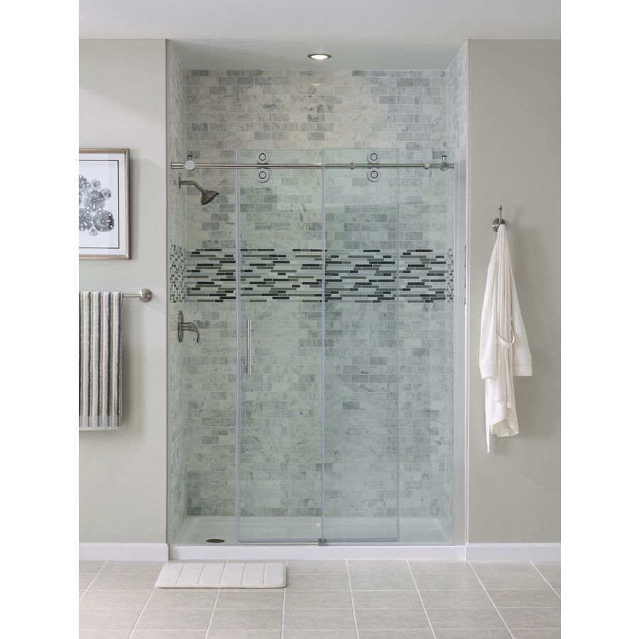 Beautiful Bathrooms Sydney shop ove decors sydney 56-in to 58-in w x 78.7-in h frameless