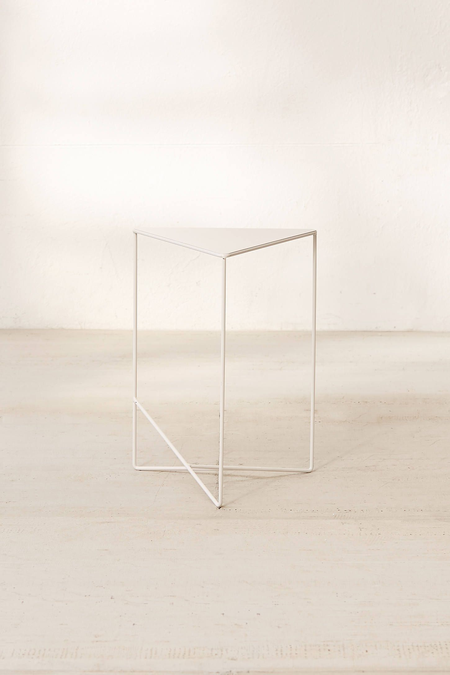 Triangle Side Table Side Table Metal Side Table Nursery Side Table