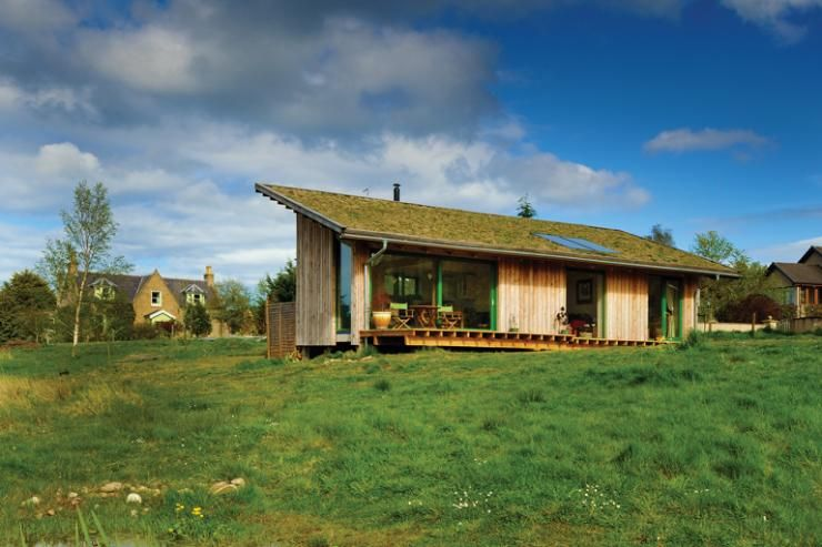 Small Sustainable Self Build Self buildcouk Natural Homes