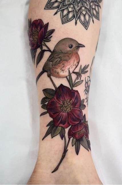 couverture de tatouage oiseau up art idées plus de 40