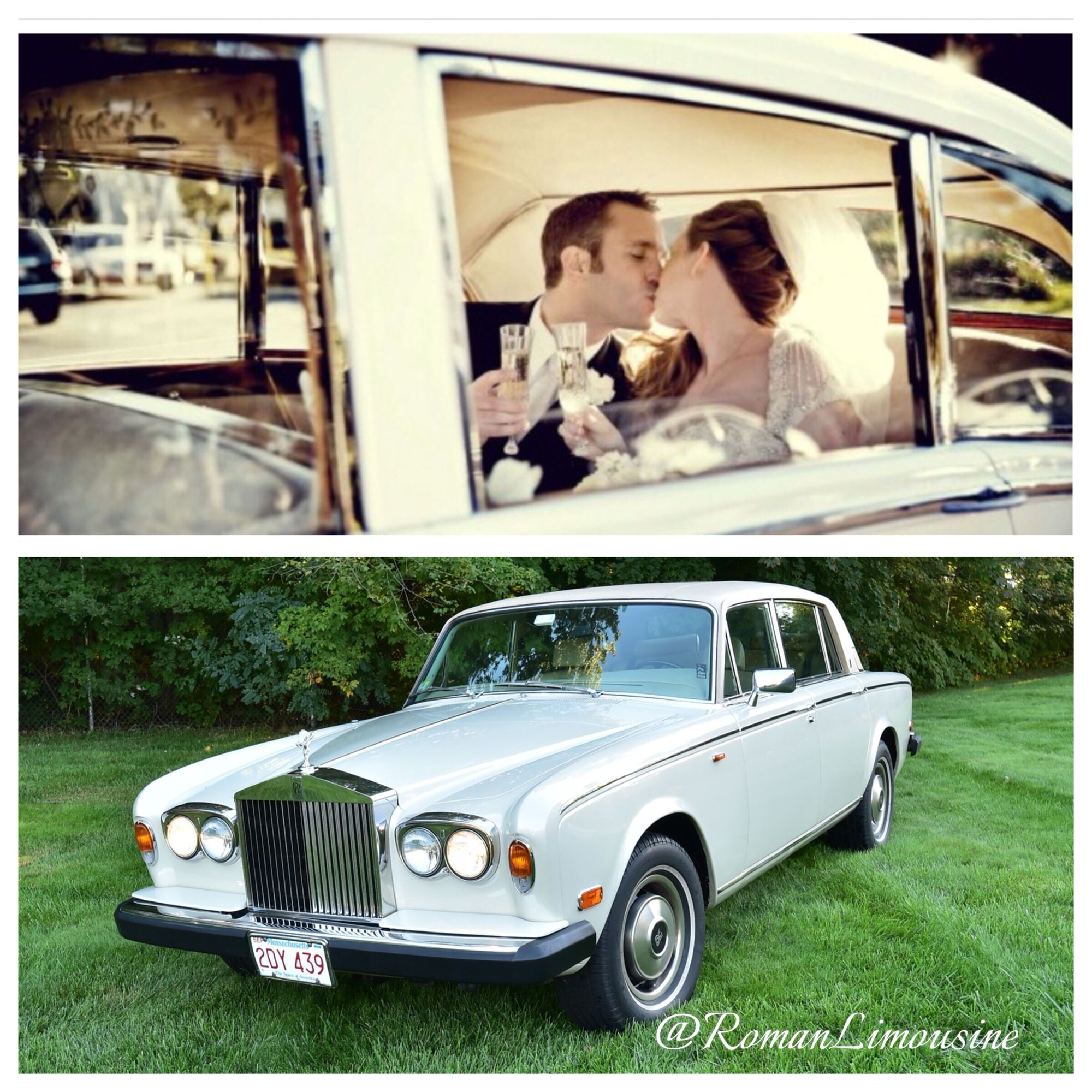 Arrive Like Royalty! Roll Away In Our Vintage 1979 Rolls