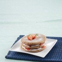 Resep Kue Pancake Krim Stroberi | Resep 23