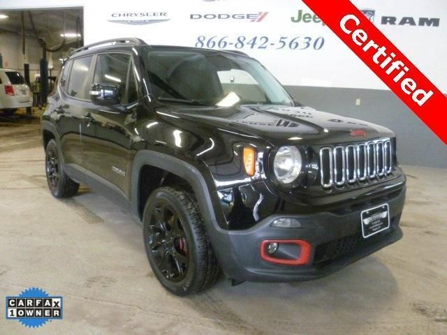 Cpo 2015 Jeep Renegade Limited For Sale At Petersen Chrysler Dodge Jeep Ram In Waupaca Wi For 21 495 Vi 2015 Jeep Renegade Chrysler Dodge Jeep Jeep Renegade