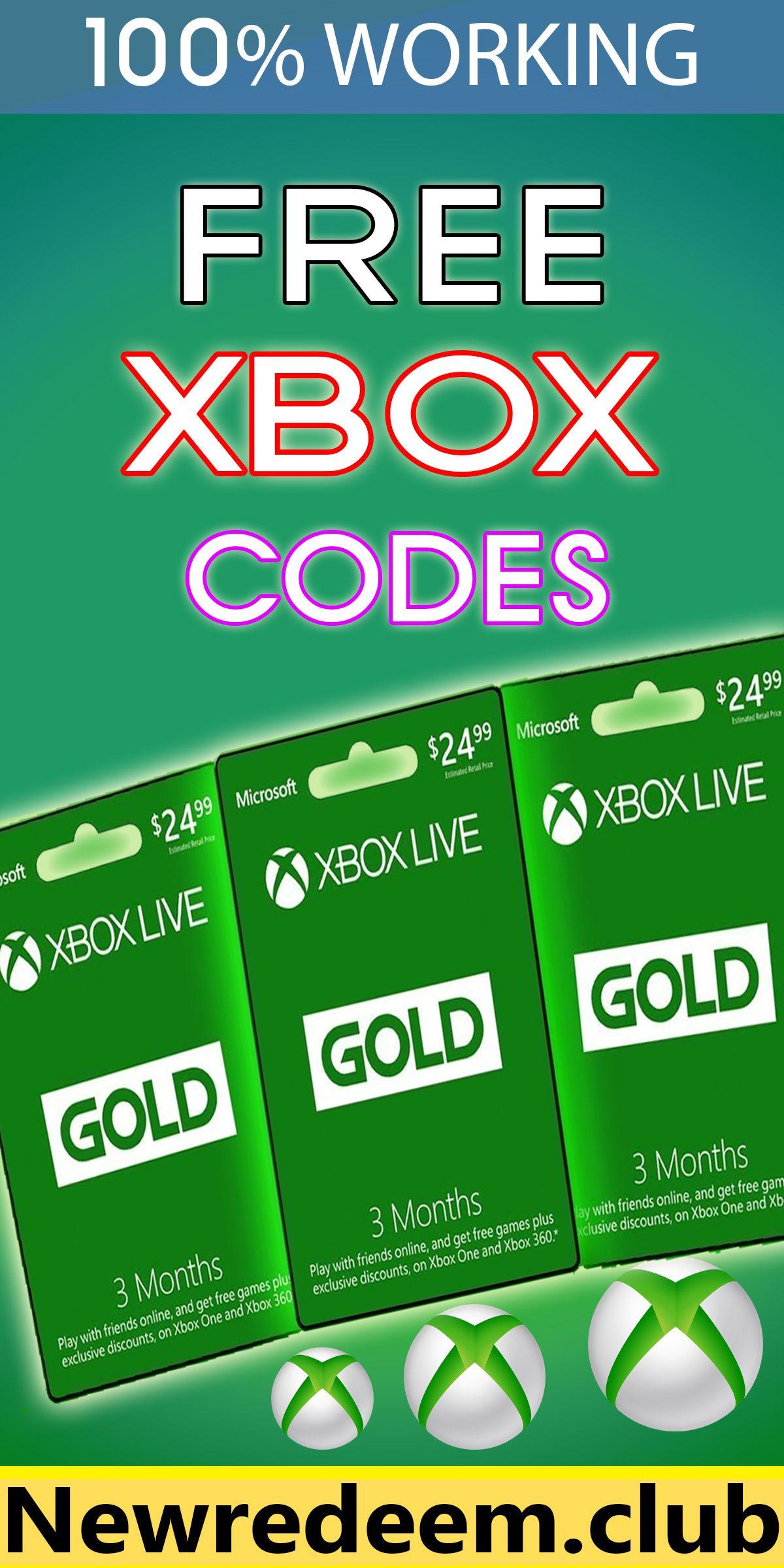 Xbox redeem code generator - free Xbox gift card codes ...