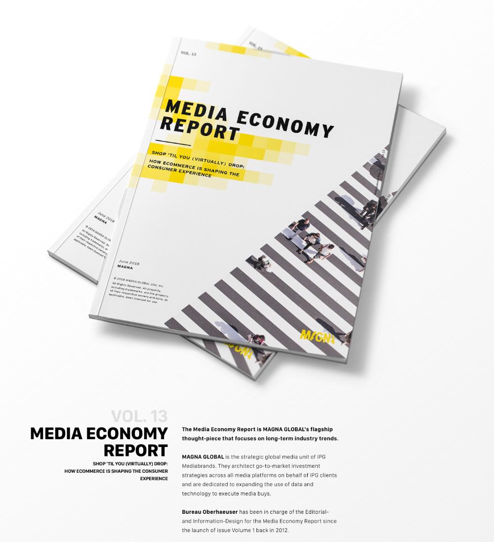 Media Economy Report Vol 13 On Behance In 2020 Sports Design