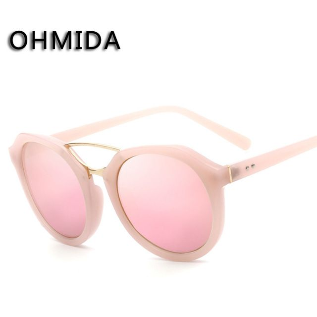 Check it on our site New Fashion Retro Sunglasses Women Luxury Brand Designer Sun Glasses Round Shade Black Eyewear Len Goggle Driver De Sol Gafas just only $5.25 with free shipping worldwide  #womanaccessories Plese click on picture to see our special price for you