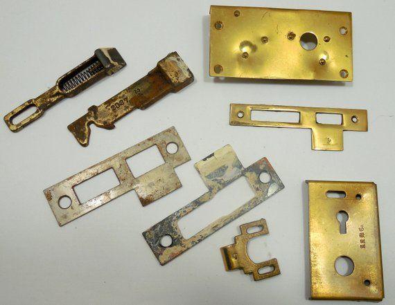 Antique Door Hardware, Door Parts, Brass Door Hardware, Salvaged Hardware,  Metal aRt - Antique Door Hardware, Door Parts, Brass Door Hardware, Salvaged