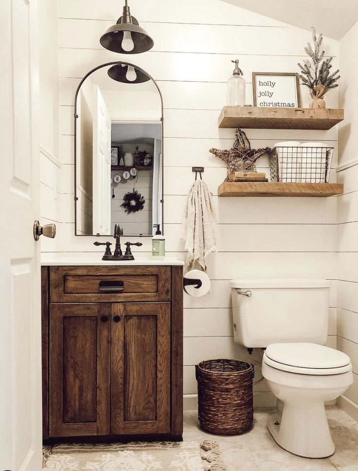 Small Bathroom Design Ideas Smallbathrooms Rustic Bathroom