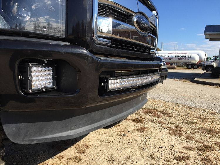 Bumper brackets for curved 40 led light bars 11 16 ford superduty bumper brackets for curved 40 led light bars 11 16 ford superduty f250 mozeypictures Gallery