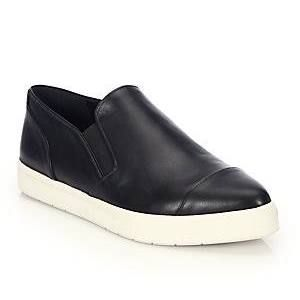 womens black leather tennis shoes white