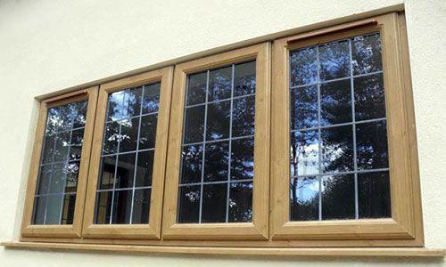 Irish oak upvc extension pinterest upvc windows for Reclaimed upvc doors