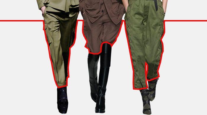 5 верных способов носить брюки в стиле милитари