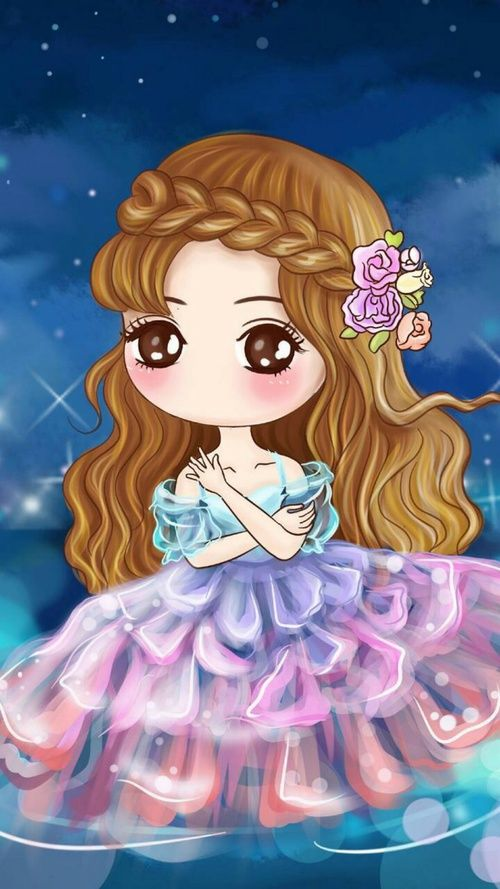 Cute Image Cute Girl Wallpaper Cartoon Girl Images Cute Art