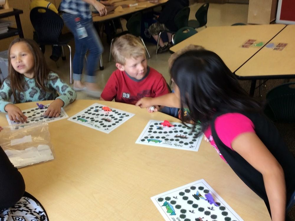 Teaching standards using play based games.