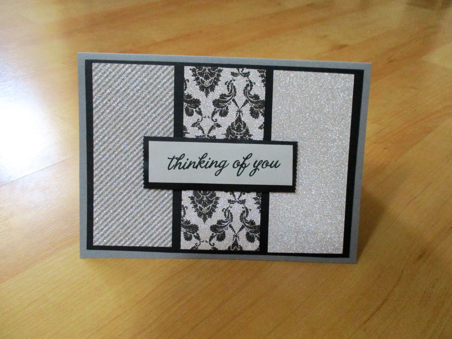 Handmade thinking of you elegant cards fancy cards blank cards