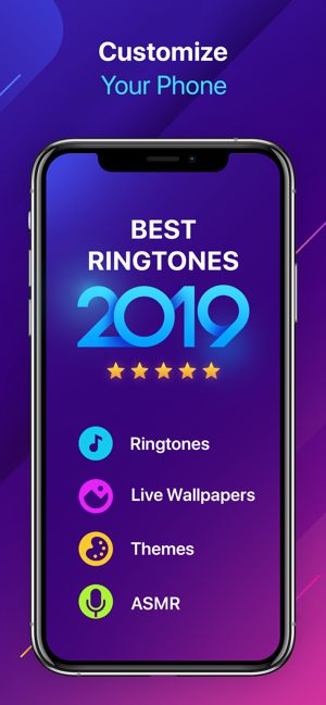 ‎Ringtones for iPhone! on the App Store en 2020 Disenos