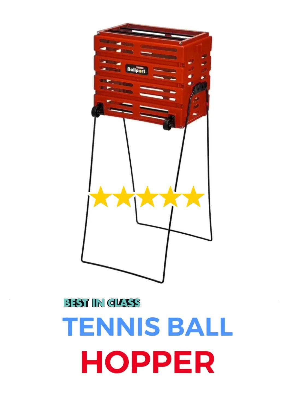 Tennis Ball Hopper Video In 2020 Tennis Doubles Tennis Quotes Squash Tennis